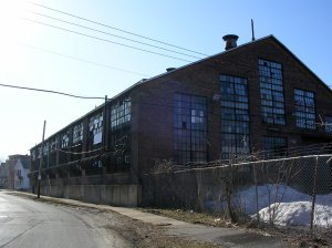 Old industrial warehouse