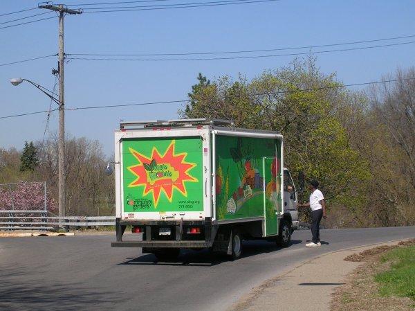 Veggie Mobile truck