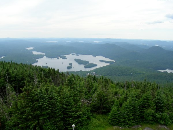 View from the top of Blue Lake Mountain