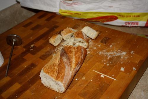 Stale baguette