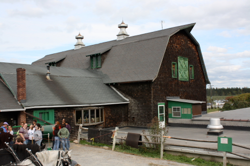The big barn at Indian Ladder