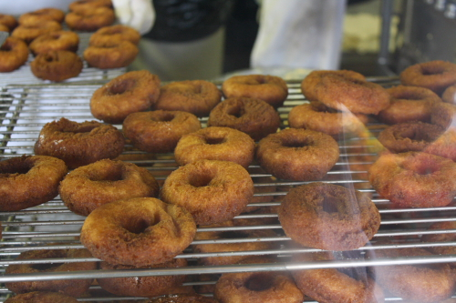 Time to make the cider donuts!